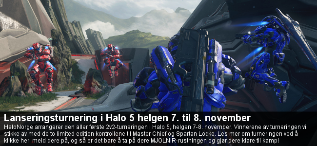 Lanseringsturnering i Halo 5