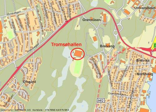 tromsøhallen kart TromsøLAN v14 i mars tromsøhallen kart